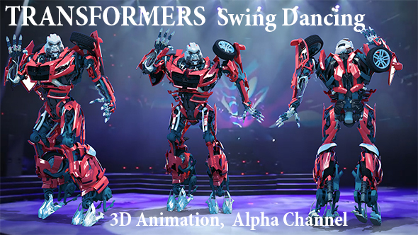 Videohive Transformers Swing Dancing 21399430