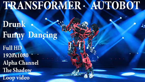 Videohive Drunk Funny Robot Dance 21500978