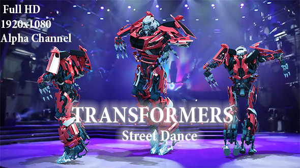 Videohive Street Dance Robot 21418332