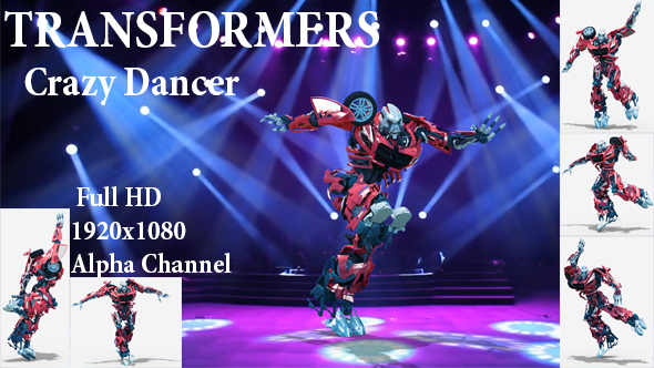 Videohive Crazy Dancer Autobots 21451846