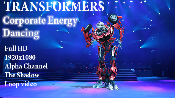 Videohive Robot Corporate Energy Dance 21510448