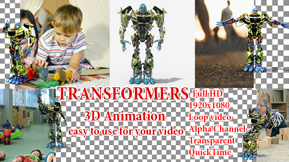 Videohive Transformers 21237413