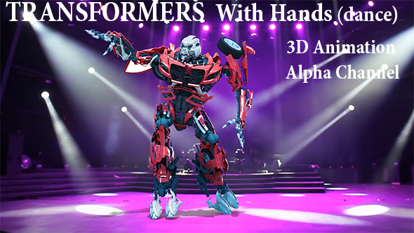 Videohive Dance Moving Transformers 21365457