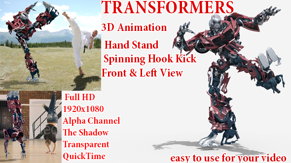 Videohive Machine Transformers Sports 21312757