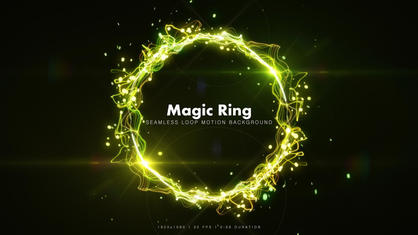 Videohive Magic Ring 3 19081370