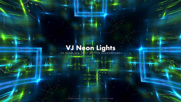 Videohive VJ Neon Lights 15 16256041