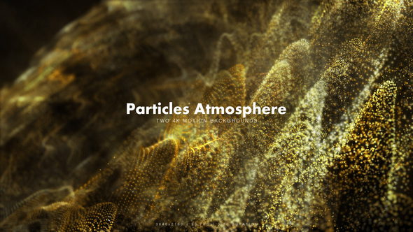 Videohive Particles Atmosphere Yellow Vol.2 11831909