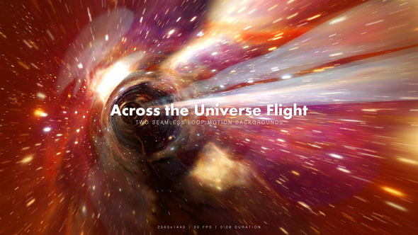 Videohive Across the Universe Flight 3 19694168