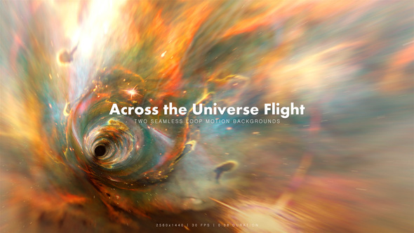 Videohive Across the Universe Flight 2 19689755