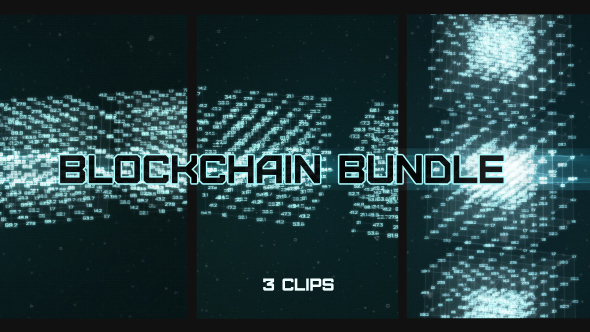 Videohive Blockchain Data Pack 21513041