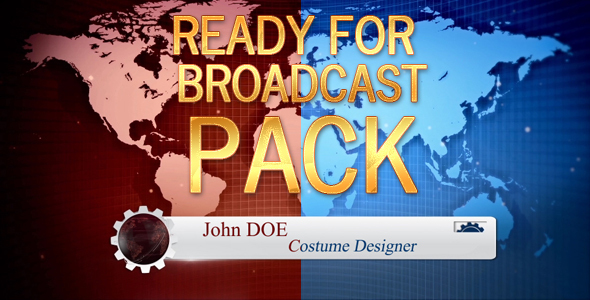Videohive Ready For Broadcast - 2 Pack 14273980