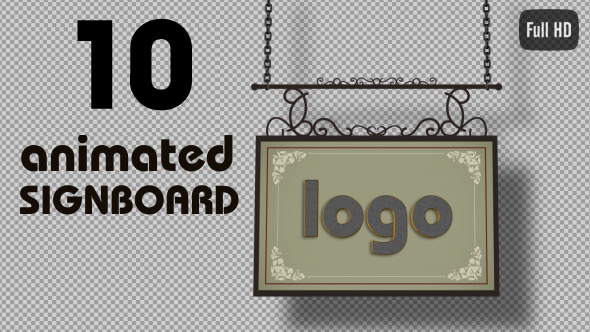 Videohive Signboards Pack 15358197