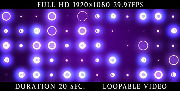 Videohive Violet Circles Background 4428078