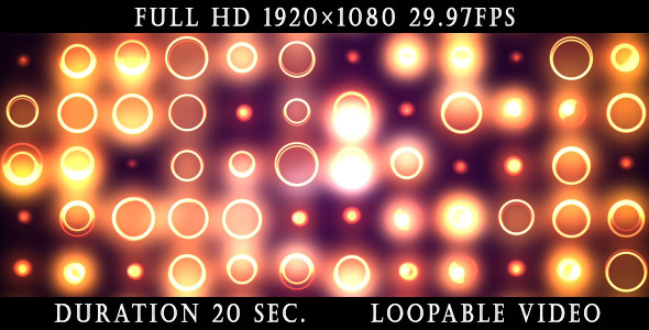 Videohive Gold Circles Background 2 4485821
