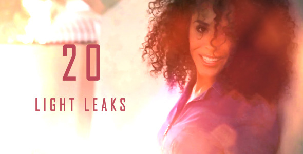 Videohive Light Leaks 4 6203514
