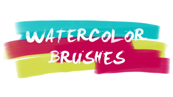 Videohive 30 Watercolor Brushes 21404161