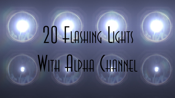 Videohive Flashing Lights 9502842