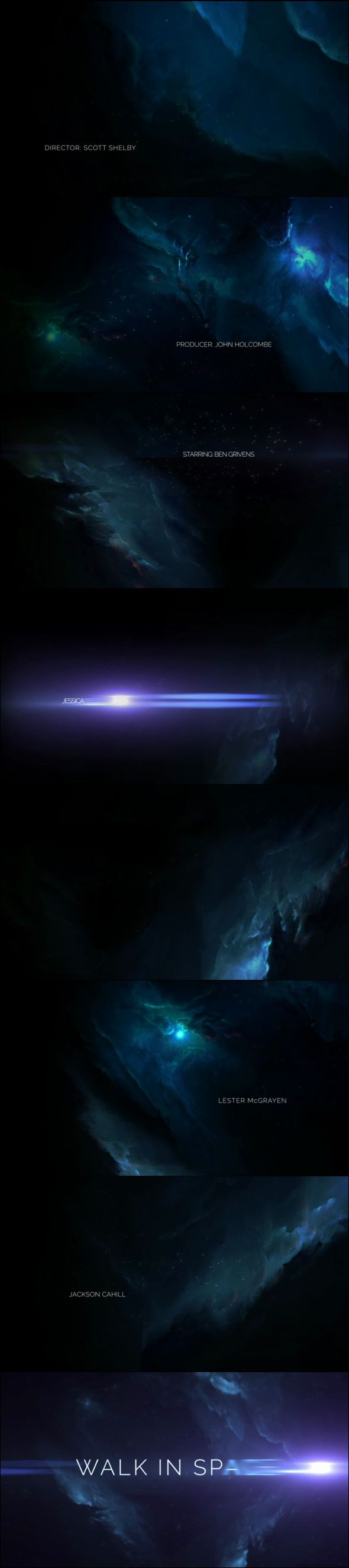 Space Odyssey Intro