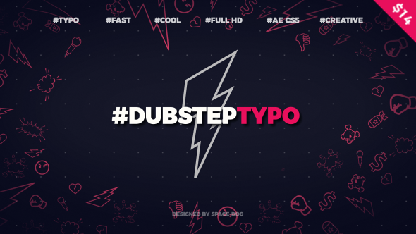 Videohive Dubstep Typography (opener) 20028317