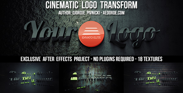 Videohive Cinematic Logo Transform 7633200