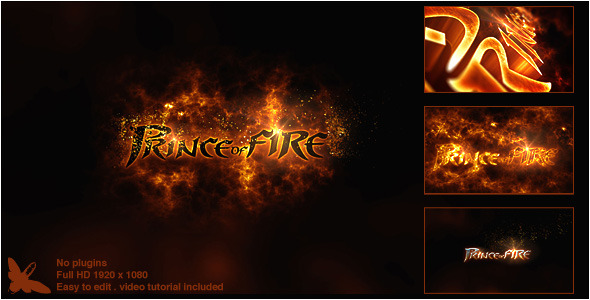 Videohive Prince of Fire Logo 8295211