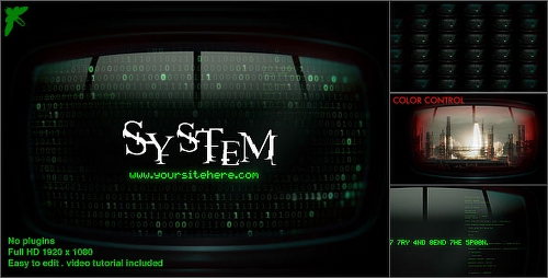 Videohive Matrix Monitors 17174375