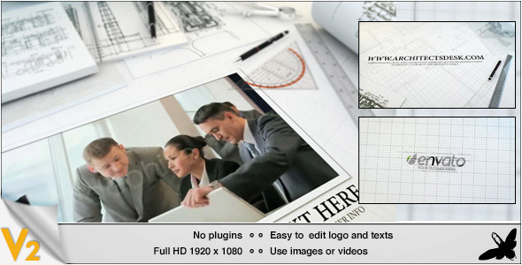 Videohive Architect's Desk 4239317
