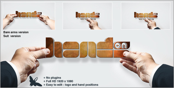 Videohive Hands On Logo 5205657