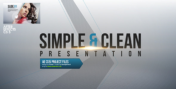 Videohive Simple & Clean Presentation 2620498