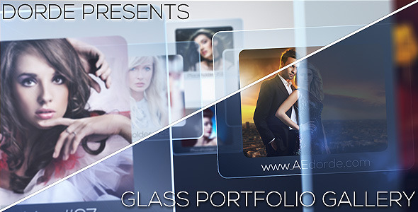 Videohive Glass Portfolio Gallery 4065472