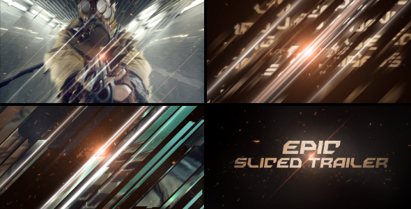 Videohive Epic Sliced Trailer 19616670