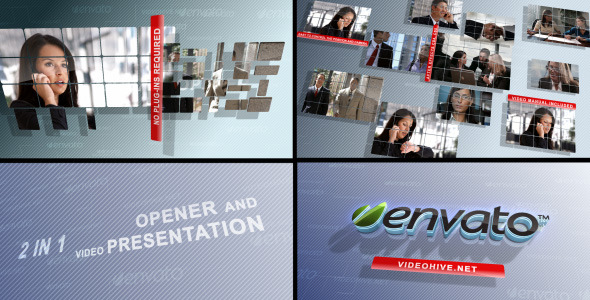 Videohive Business Screens (2 in 1) 724761