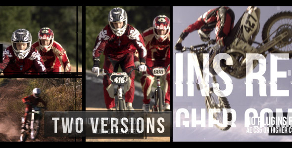 Videohive Action Glitch Slideshow 11714285