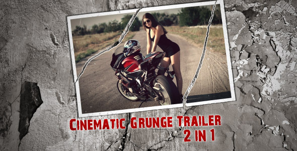 Videohive Cinematic Grunge Trailer 7646133