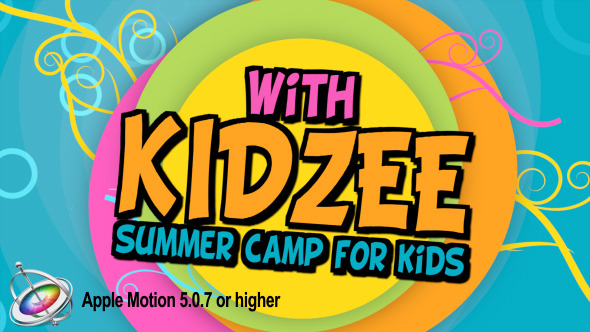 Videohive Kidzee - Summer Camp for Kids - Apple Motion 7442043