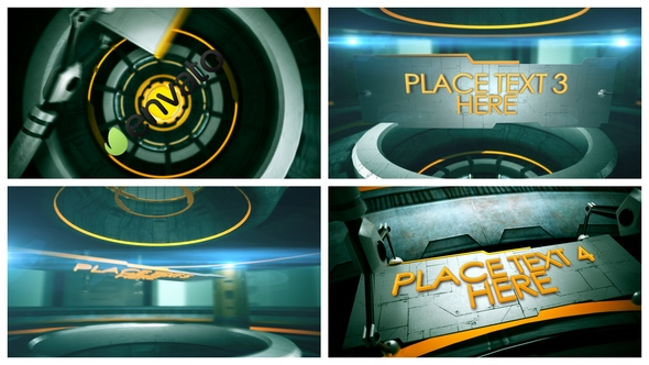 Videohive 3D Tech Titles 19901551