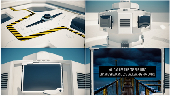 Videohive Hitech Screens Intro and Transition 20804330