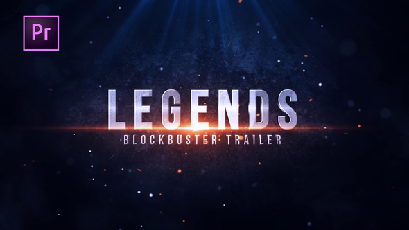 Videohive Legends Blockbuster Title 22339232