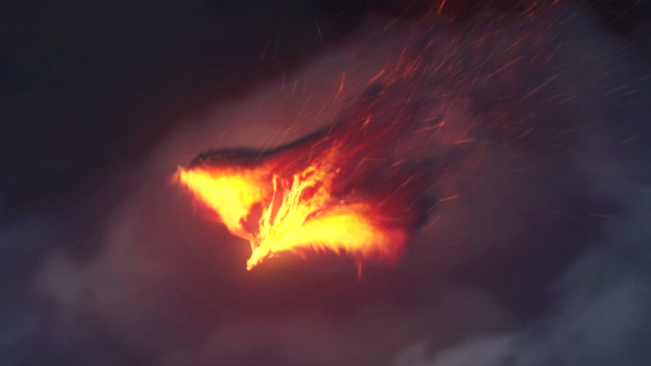 Videohive The Pheonix | Fire Reveal 17440466