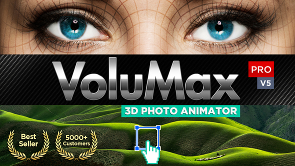 Videohive VoluMax - 3D Photo Animator V5.2 13646883 (With License)
