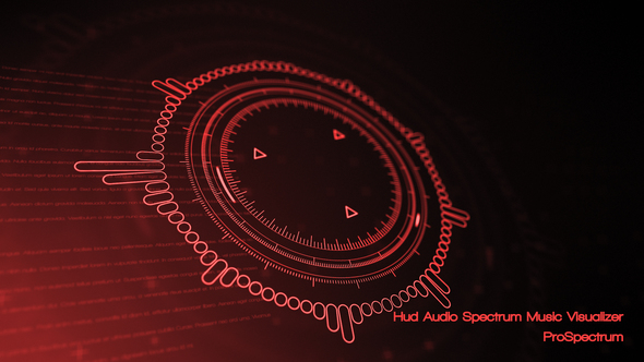 Videohive Hud Audio Spectrum Music Visualizer 21232494