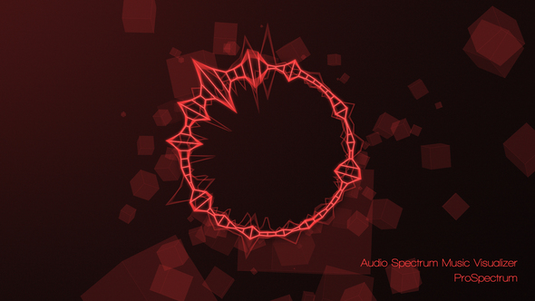 Videohive Audio Spectrum Music Visualizer 15582298