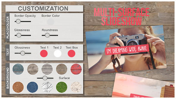 Videohive Multi-Surface SlideShow 12034589