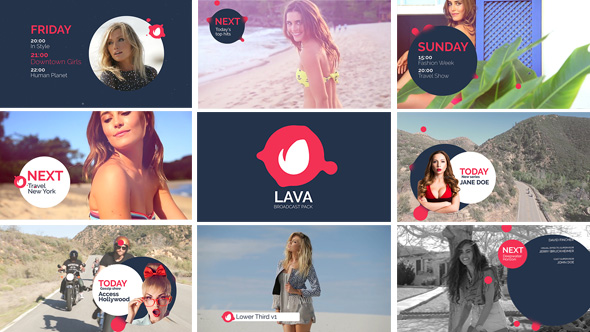 Videohive Lava Broadcast Package 18681283