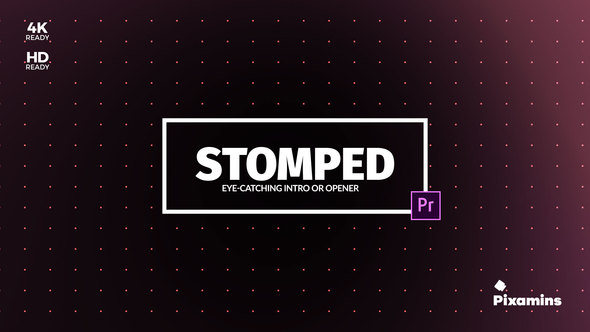 Videohive Stomped Opener | For Premiere PRO 22119278