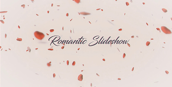 Videohive Romantic Slideshow 20166726