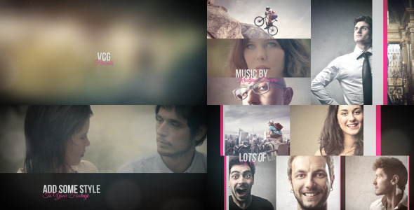 Videohive Vintage Slide - A Dynamic Photo Slideshow 8372571