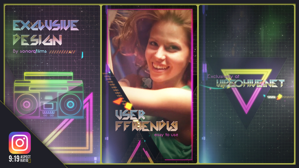 Videohive 80s Fever IGTV Version 22174717