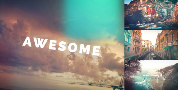 Videohive Photo Stomp Opener 20163038