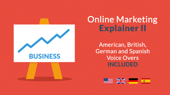 Videohive Online Marketing Explainer II 8830526